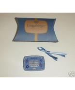 Longaberger  Pottery Menorah Happy Hanukkah Basket Tie On New In Box Aut... - $9.85