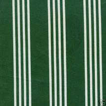 Longaberger Cake Basket Holiday Green & White Striped Fabric OE Liner Ne... - $15.79