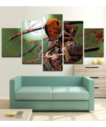 Deathstroke Wall Art Painting Canvas Dc Comics Deathstroke Poster HD Fra... - $74.99+