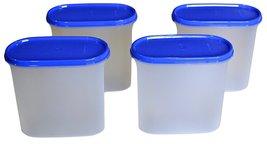 Tupperware Modular Mates Oval Plastic Container Set, 1.7 Litres, 4-Piece... - $58.99