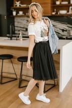 Indulge Tulle Skirt In Black - $49.00