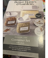 Better Homes & Gardens Shake and Store Container Set With 33 Organizatio... - $10.66