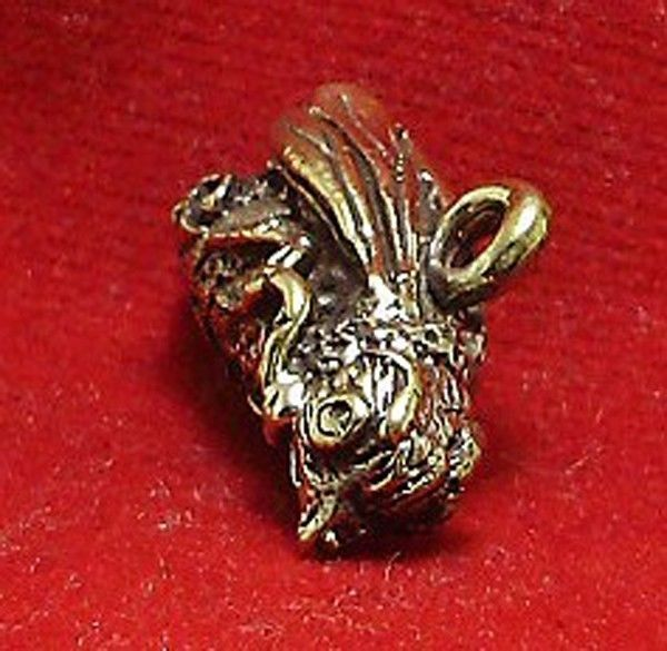 THAI REAL AMULET PENDANT MAGIC BEE LUCKY RICH LOVE ATTRACTION THAILAND NICE GIFT