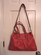 Coach Madison Sabrina salmon leather shoulder bag - $78.99