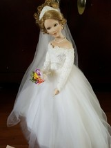 Ashton Drake Galleries Porcelain Bride Doll She Walks in beauty collecti... - $64.85