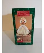 Hallmark - Happy Holidays Barbie Stocking Hanger - Date1995 - $16.63