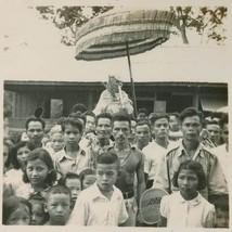 MINI BRASS AMULET LP KLAI THAI FAMOUS MONK RICH LUCKY SUCCESS THAILAND NICE GIFT image 2