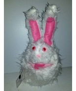 F7 * Professional White Muppet Style Ventriloquist Bunny Puppet - $15.00