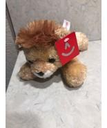 Aurora World Plush Mini Flopsie LIONEL the Lion (8 inch) -New Stuffed An... - $9.95
