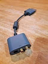 Microsoft Xbox 360 Audio Adapter X808221-002 - Gray - $7.91