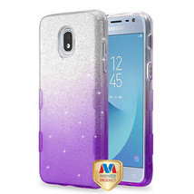 Gradient Glitter TUFF Hybrid Case for SAMSUNG Galaxy J3 V 2018/Star/Achieve - $11.07