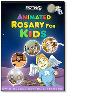 ANIMATED ROSARY FOR KIDS - EWTN - CD - $23.95