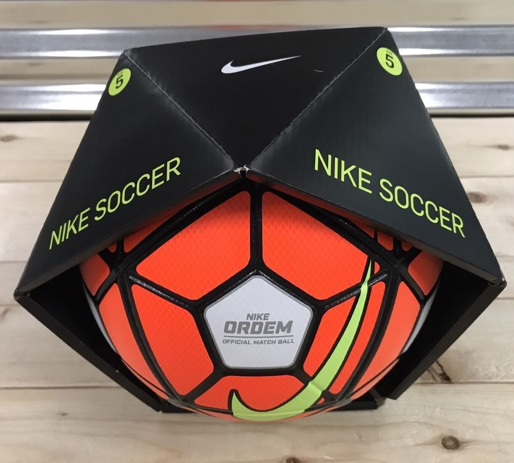 newest collection 7f0dc 6e263 NIKE ORDEM 3 OFFICIAL MATCH SOCCER BALL 15 16 SIZE 5 NEW W BOX
