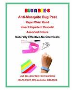 20 pcs Anti Mosquito Insect Repellent Citronella Wrist Bands US SELLER - $8.35