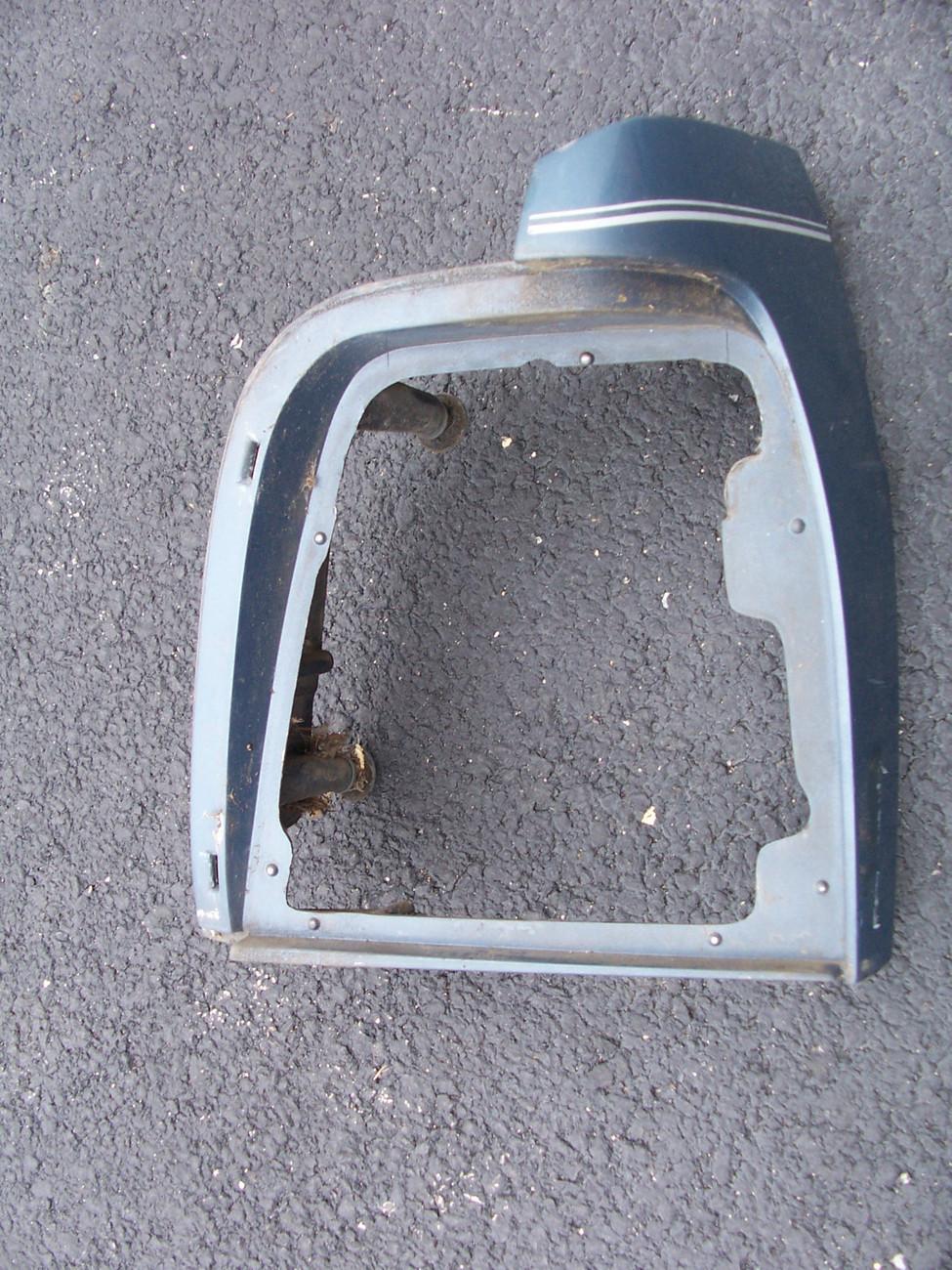 1981-1988 Oldsmobile Cutlass Supreme LH fender extension  OEM  .