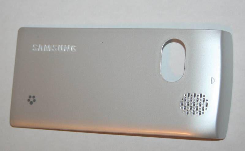 OEM Samsung T559 Comeback Back Cover Door Frost Silver