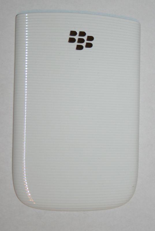 OEM Blackberry Torch 9800 Back Cover Battery Door White