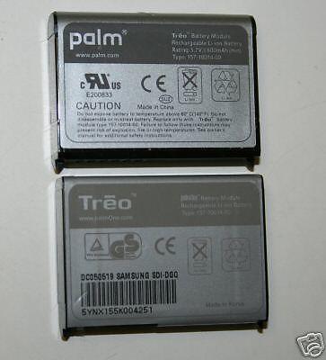 LOT 100 OEM Palm Treo 650 700w 700p 700 700wx BATTERY