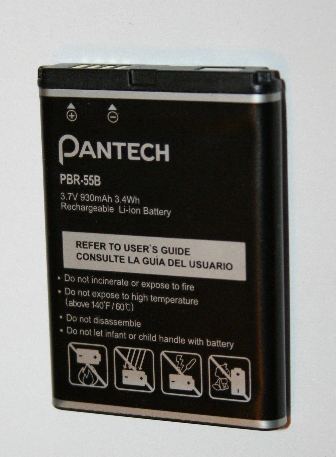 Lot of 10 Used OEM PANTECH Battery PBR-55B Impact P7000 930mAh image 2