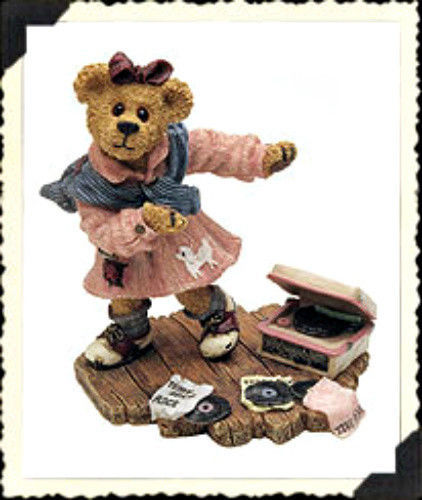 "Boyds Bearstone ""Bailey.. Swing Time""  #227756- 1E- NIB- 2000- Retired"