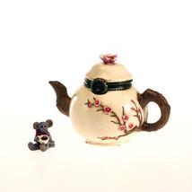 "Boyds Treasure Box ""Camomille's Tea time with Steep"" #4027342- 1E- NIB-Retured image 1"