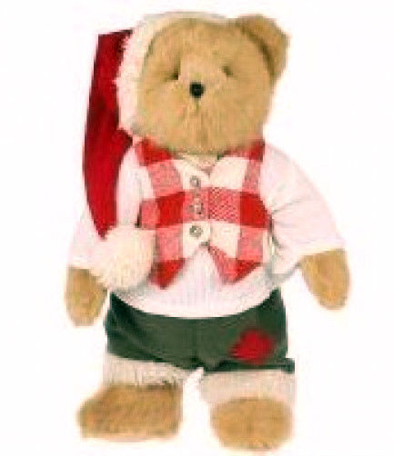 "Boyds Bears ""Kris. Kringle""  #93743V  - 17"" QVC Exclusive Bear-NWT-2006- Retired"