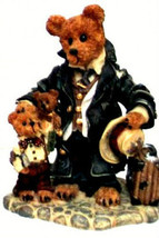 "Boyds Bears ""Uncle Gus & Honeybunch"" 12"" QVC Exclusive Mohair -#99526V -NWT-1997 image 2"