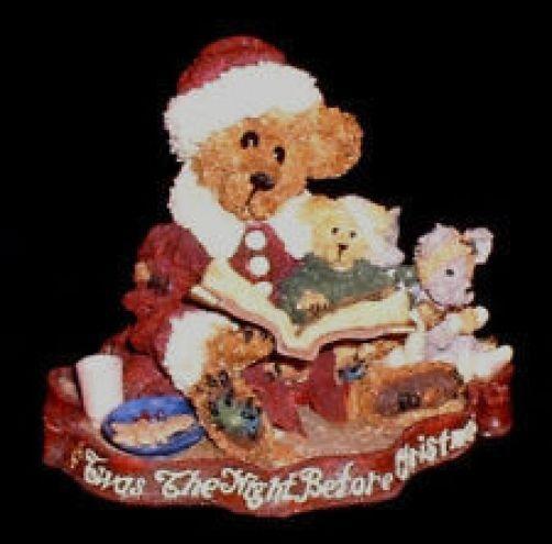 "Boyds Bearstone ""Alexis Bearinsky..The Night Before Christmas"" #228314- 1E- NIB"
