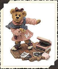 "Boyds Bearstone ""Bailey.. Swing Time""  #227756- 1E- NIB- 2000- Retired image 2"