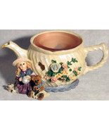 "Boyds Dollstone Votive ""Whitney w/Wilson..Tea & Candle""#27958*NEW*1999*R... - $19.99"