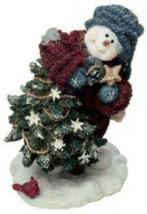 """Boyds Snow Dooodes""""Douglas.. Sprucin' Up the Tree""""  #36524* 1E* NIB* 2003 - $16.99"""