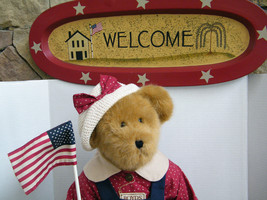 "Boyds Bears ""BAILEY""  20"" Americana Event Exclusive - #50010- NWT- 2003 -Retired image 2"