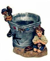 """Boyds Yesterdays Child Dollstone""""Lucinda & Dawn..By the Sea"""" Votive- #27951-NIB - $19.99"""