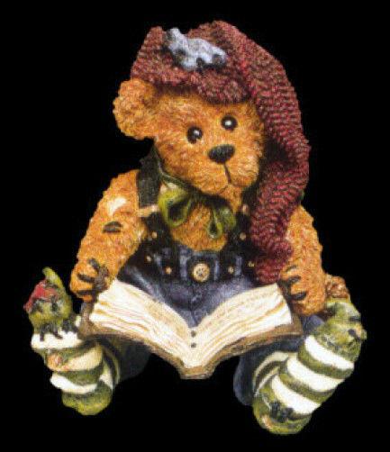 "Boyds Bears Bearstone ""Edmund The Elf.. Christmas Carol"" #228311 *1998* NIB"