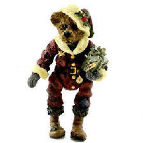 """Boyds Shoe Box Bear """"Nicholas 'Uncle Nick' GRIZBERG"""" #3205- 1E- NIB-1997-Retired"""