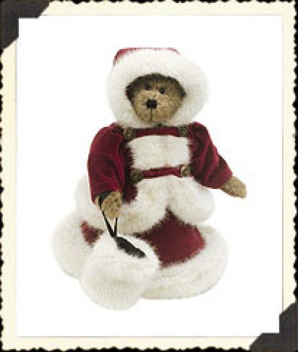 """Boyds Bears """"Mrs. Fezziwig Jodibear"""" -9"""" Plush Bear - #92000-10 - NWT-  Retired"""