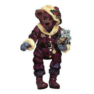"""Boyds Shoe Box Bear """"Nicholas 'Uncle Nick' GRIZBERG"""" #3205- 1E- NIB-1997-Retired image 2"""