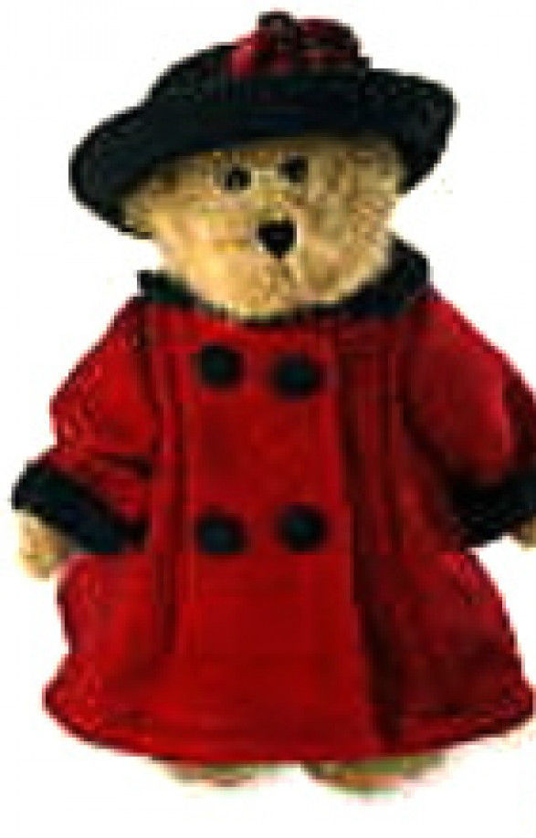 """Boyds Bear """"Bailey In England""""-8"""" QVC Signed Exclusive- #99115V~NWT-2005-Retired"""