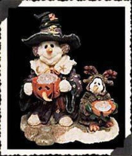 "Boyds Bear* WeeFolkstone..SnowPeople ""Arabella & Oscar"" #36510 *2E* Retired*New*"