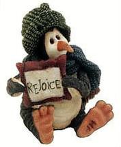 "Boyds Wee Folkstones*Tuxedo Gang ""Walk Coldfin..Rejoice""Ornament*#25806*2E*NIB - $9.99"