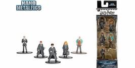 Harry Potter Nano Metalfigs Set of 5 Pack A Weasley Granger Figures NEW  - $9.89