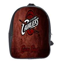 56bc5b35e840a Backpack School Bag Cleveland Cavaliers Basketball Logo NBA Sports New Game  Anim - $33.00