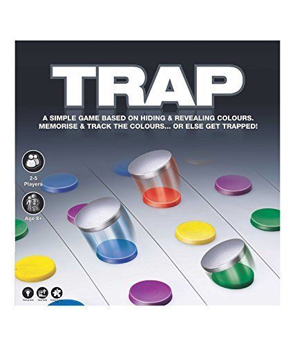 Trap Game 2-5 Players Age 8+ Toys Box Indoor