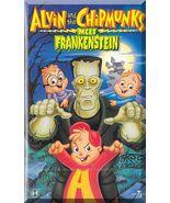 VHS - Alvin And The Chipmunks Meet Frankenstein (1999) *Simon / Theodore* - $5.00