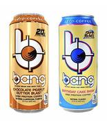 Bang Keto Coffee 15 Ounce Cans (New Flavor Combo) - $36.62