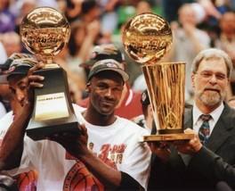 Michael Jordan Pjil Jackson SA Vintage 8X10 Color Basketball Memorabilia... - $6.99