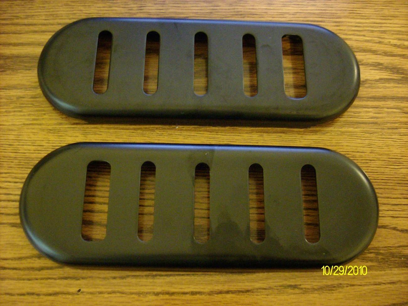 MTD snowblower skids shoes 784-5038A / 784-5038B-0637