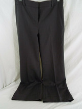 Pre owned Ann Taylor Grey/Gray Pinstripped Dress Pants Size 10P - $17.61