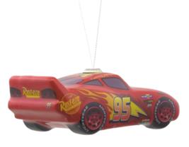 Hallmark Disney Pixar Cars Lightning McQueen Decoupage Christmas Ornament NWT image 3