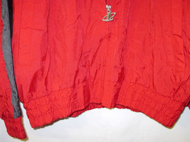 NFL Pro Line Authentic Logo AthleticTampa Bay Buccaneers nylon jacket Zip Up L image 4